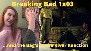 """Breaking Bad Season 1 Episode 3 """"...And the Bag's in the River"""" REACTION!!"""