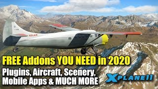 Gambar cover X-plane 11 | THE ULTIMATE List of Freeware Addons 2020 (Part 1) | 65 Addons YOU NEED