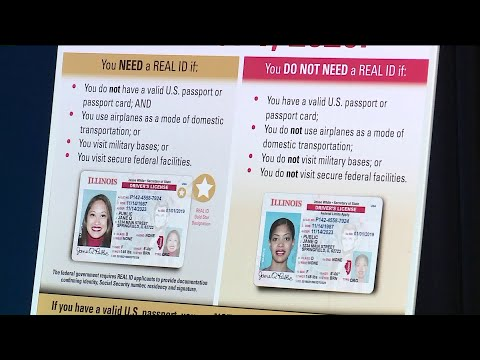 Real Ids Now Available For Illinois Residents Youtube