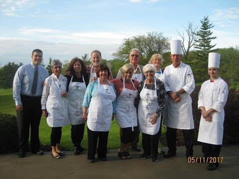 Springfield Country Club (Ohio)  Adult Cooking Series May 2017 SLIDE SHOW