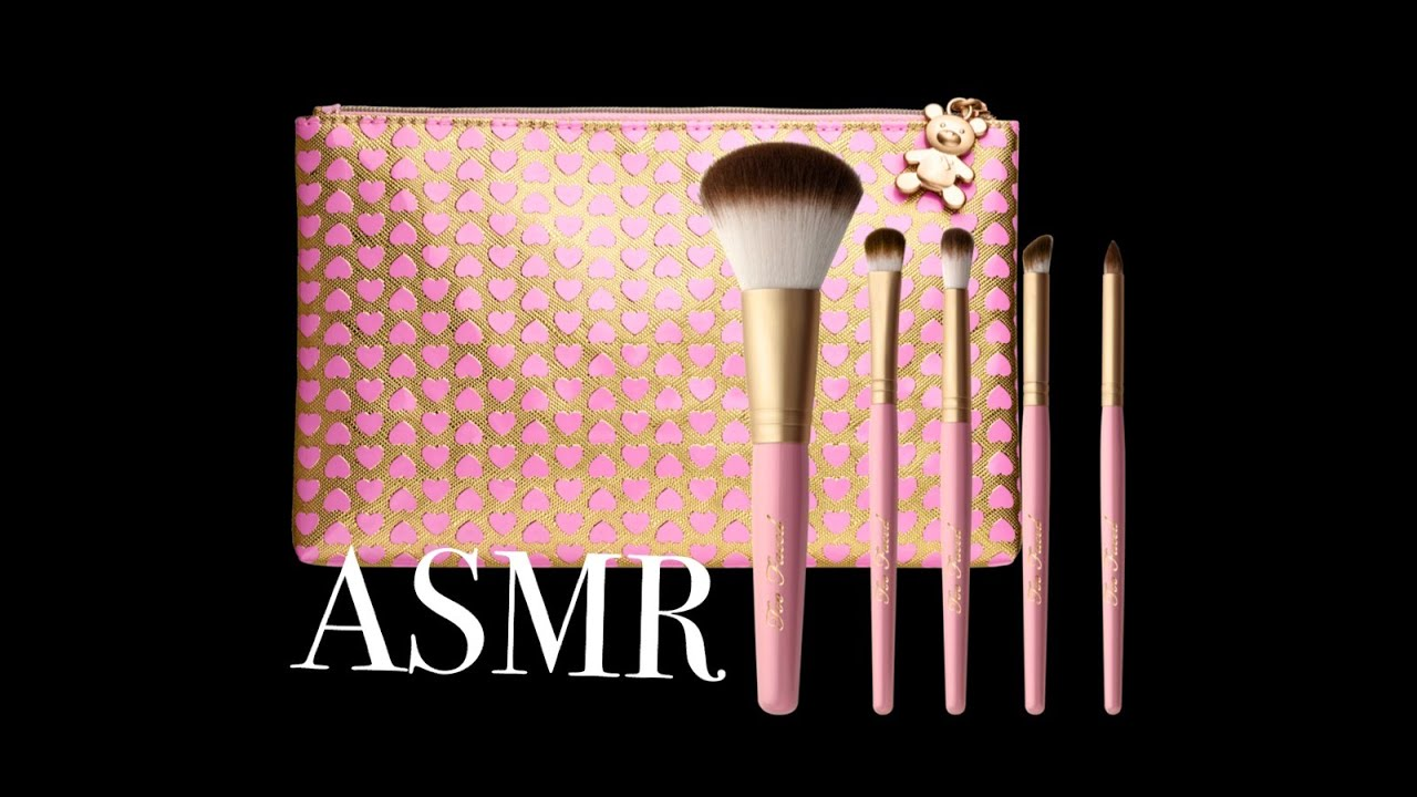 how to clean too faced makeup brushes
