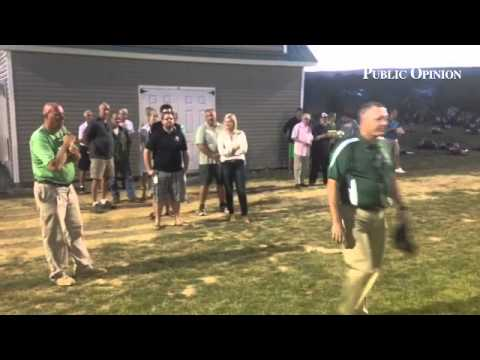 The dedication of the new soccer complex takes place at James Buchanan High School!