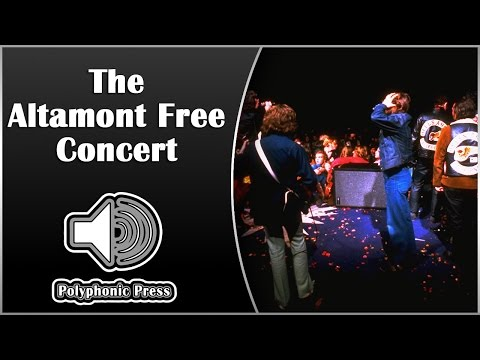 Altamont Free Concert [Music History]