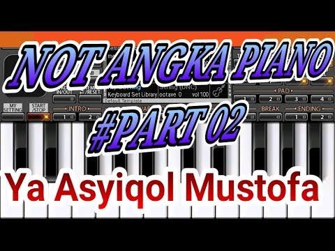 Not Angka Ya Asyiqol Mustofa