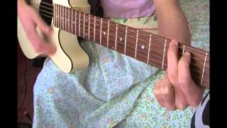 Easy Guitar Tutorial For GIRL ON FIRE By Alicia Keys!!!!