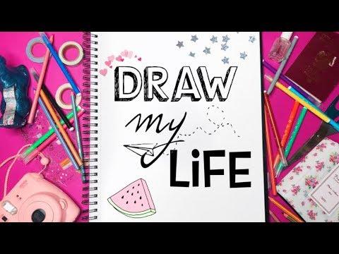 DRAW MY LIFE | Sylwia Lipka