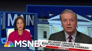 Trump Ally Lindsey Graham Responds To Obama Aide Dubbing Him A 'Piece Of Sh**' | MSNBC