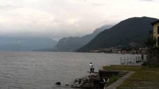 Lake Como, Italy a little south of Dongo September 2011