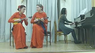 """Дуэт домр """" УниСОН"""", интернет конкурс Grand musik.art, лауреаты II степени."""