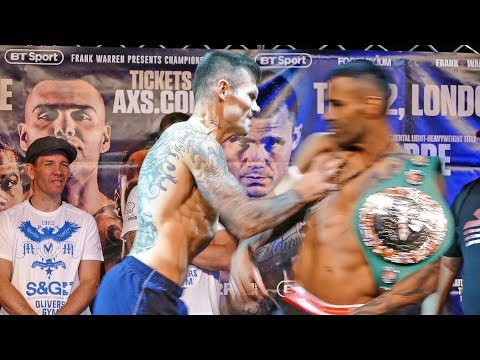 FIGHT BREAKS OUT at Roberto Garcia vs. Martin Murray WEIGH IN & FINAL FACE OFF BOXING