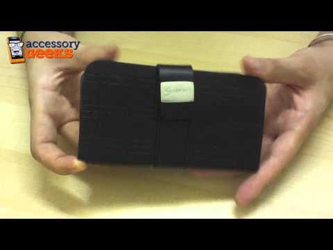 Samsung Fascinate i500 Leather Wallet