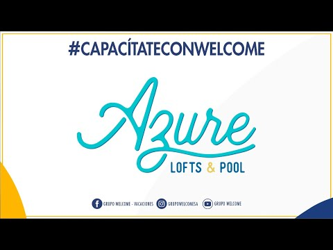 #CapacítateConWelcome - Azure Loft & Pool