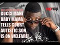 "Download mp3 Rapper Gucci Mane Battles it Out in Court With Baby Mama ""Son is on Public Assistance"" for free"
