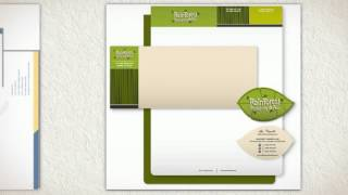 Environmentally Friendly Green Letterhead and Envelopes, Eco Green Stationery Printing Los Angeles