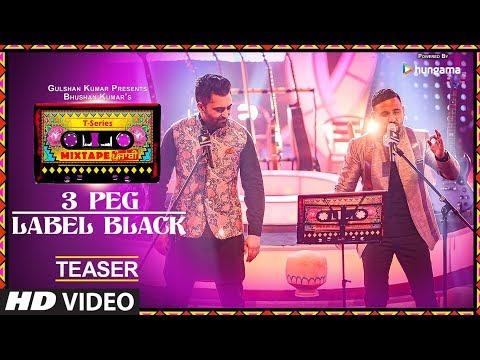 T-Series Mixtape Punjabi: 3 Peg/Label Black (Teaser)   Sharry Mann   Gupz Sehra