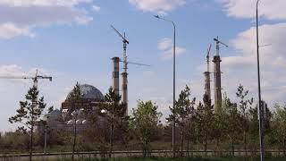 В Нур-Султане строится новая мечеть