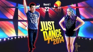 """DUMB DANCE MOVES"" Just Dance 2014 - Husband vs Wife"