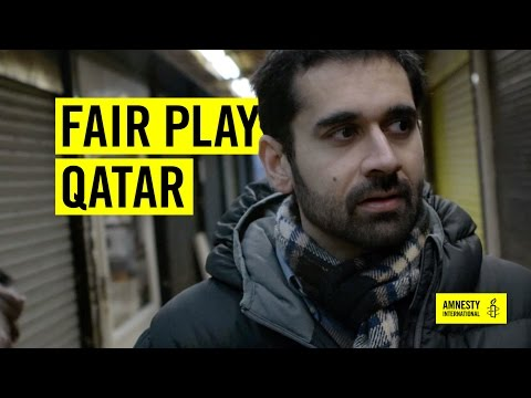 Investigating conditions in Qatar migrant camps
