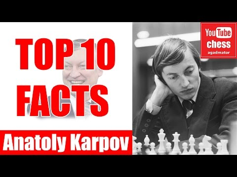 Top 10 facts about Anatoly Karpov