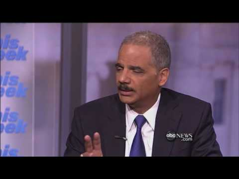 Interview With Eric Holder