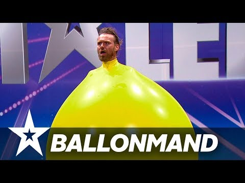 Ballonmand I Danmark har talent 2018 I Audition 6