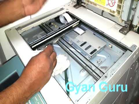 how to clean reader lamp for best photo copy of copier machine