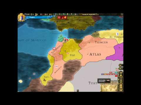 Lets Play Europa Universalis 3 Divine Wind Naples (Expand Deep Into Africa) Part 5