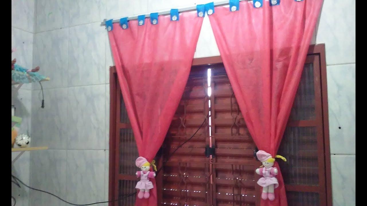 Cortina de tnt para quarto infantil youtube - Modelos de cortinas infantiles ...