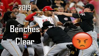 MLB Bench-Clearing Incidents - 2019