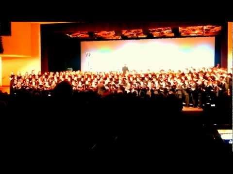 Onondaga County high school senior choir, Aaron Ruiz
