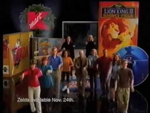 KMart Christmas Commercial Penny Marshall Rosie ODonnell Dancing