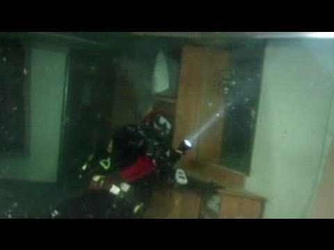 Diving inside the Costa Concordia - no comment