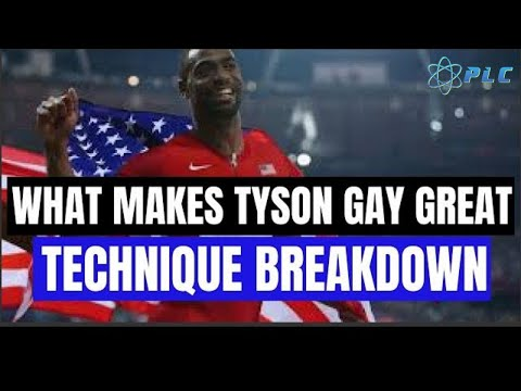 What Makes Tyson Gay Great: Technique AND Body Build Breakdown