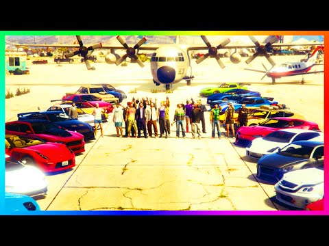 GTA ONLINE ULTIMATE FREEMODE MADNESS - HUNTING RARE VEHICLE SEARCH + EXOTIC CAR MEET & MORE! (GTA 5)
