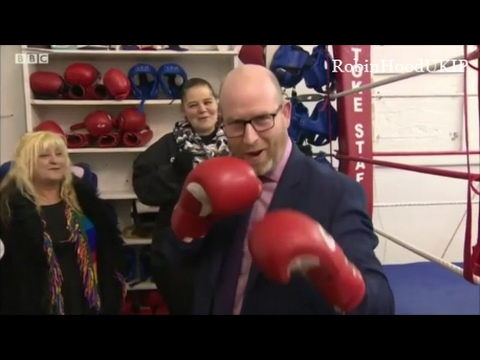 UKIP Paul Nuttall plans on knocking out the loony Labour Party