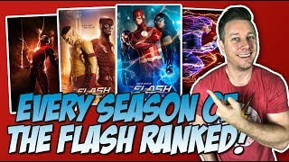 All 5 Seasons of The Flash Ranked!