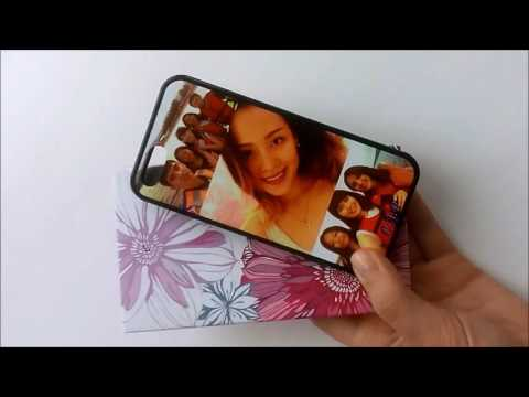 Печать на силиконовом чехле для iPhone 5/5S. Чехол фото коллаж