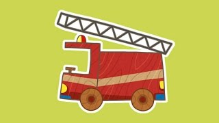 """""""Машинки"""", новый мультсериал для мальчиков - Пожарная машина (1 серия) Развивающий мультфильм"""