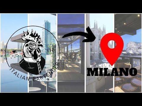 5 COCKTAIL BAR A MILANO Con TERRAZZA