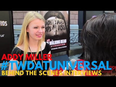 Addy Miller at Universal Studios Hollywood's