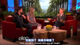 双语 Taylor Swift and Zac Efron   The Full Interview   Ellen 720p(原画)