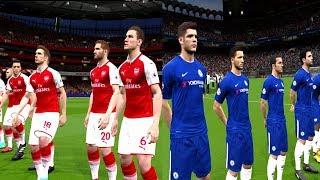 Chelsea vs Arsenal | Carabao Cup 10 January 2018 Gameplay