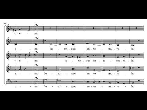 Palestrina: Lamentations of Jeremiah - Book 3 - Good Friday, 1st lesson