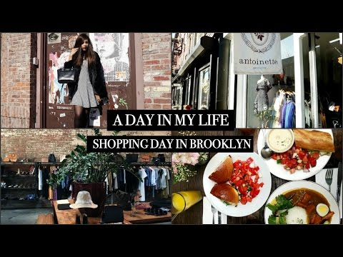 A day in my life  | Crazy shopping in Williamsburg, Brooklyn