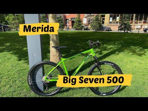 Обзор велосипеда Merida Big Seven 500