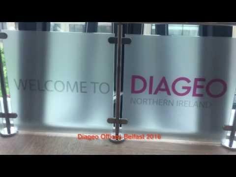 Alexander Boyd Displays Interior Branding of Diageo Offices