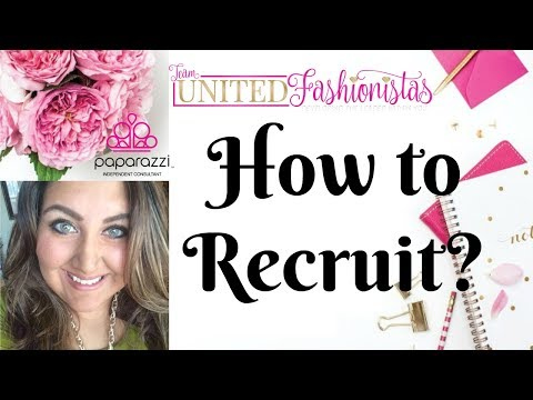 How to Recruit People for Paparazzi Accessories