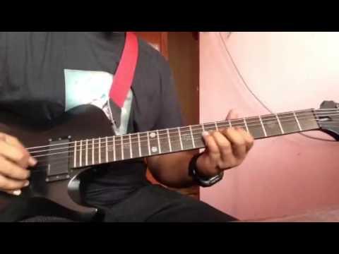 Bunga anak pak abu (khalifah) gitar cover
