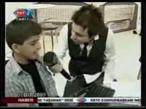 2009 Cebit Bilişim Fuarında Dünya Klavye Şampiyonlarımız - TRT 2