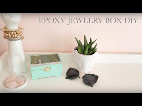 Epoxy Jewelry Box DIY